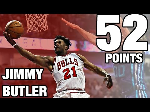 Jimmy Butler Drops 52 POINTS!!! | 01.02.17