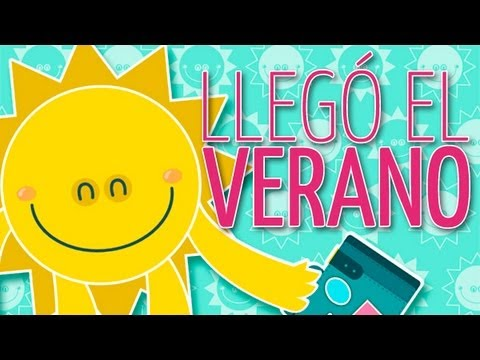La Cancion Infantil Del Verano The Summer Children S Song Youtube