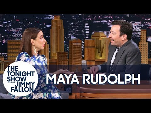 Jimmy And Maya Rudolph Reminisce About Their Favorite SNL Stories