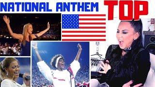 Download lagu Star-Spangled Banner REACTION - TOP American National Anthem USA | Lucia Sinatra