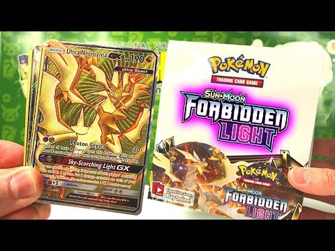 ENGLISH FORBIDDEN LIGHT BOOSTER BOX OPENING (early)