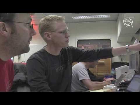 LHCnews June 7, 2009 - LHCb got beam!