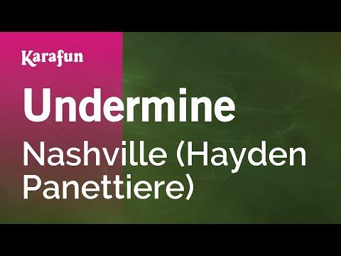 Karaoke Undermine - Nashville *
