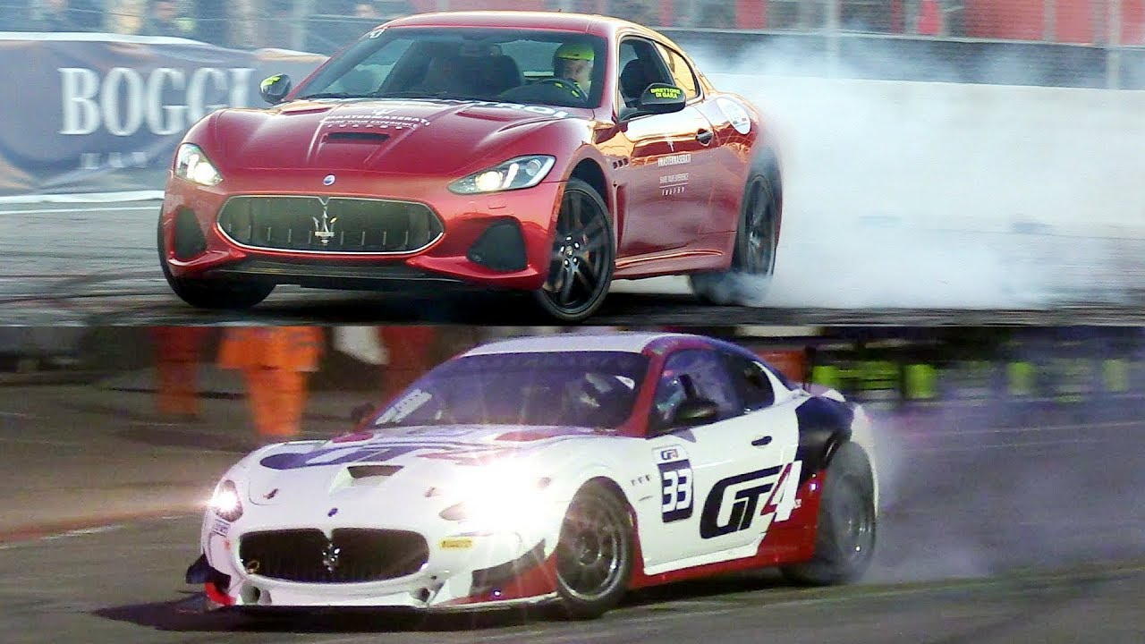 Maserati GranTurismo 2018 + GranTurismo MC GT4 & Andrea