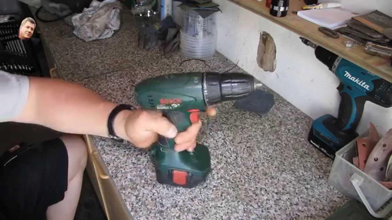 Akkuschrauber Bosch Qualmt Youtube