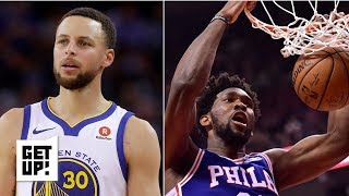 Steph Curry, Joel Embiid and De'Aaron Fox win Jalen Rose's NBA weekly awards | Get Up!