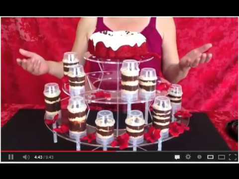 Push Up Pop Cake Display Stand Ideas Youtube
