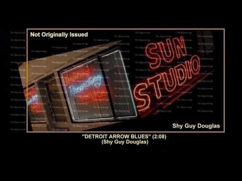 (1953) Sun ''Detroit Arrow Blues'' Shy Guy Douglas
