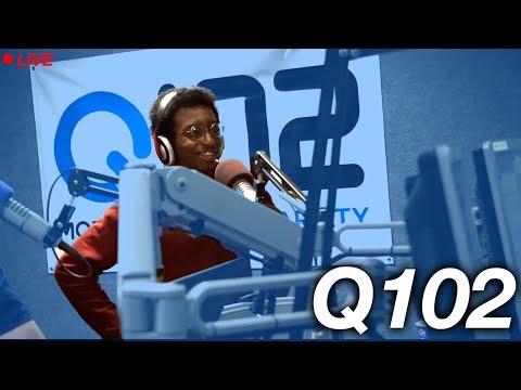 I WAS ON Q102 RADIO!!!