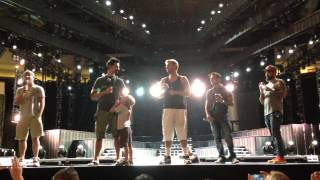 Backstreet Boys - Darlin' - Austin Sound Check - In A World Like This Tour 09.01.13