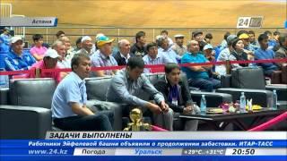 В Астане завершился чемпионат Азии по тяжелой атлетике