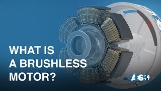 What is a BRUSHLESS MOTOR and how it works - Torque - Hall effect - 3D animation