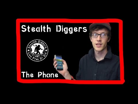 #86 The Phone - metal detecting NH Surface find cellar holes relics