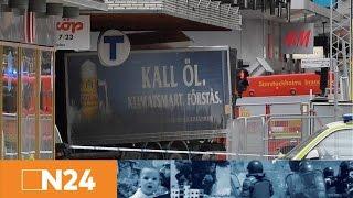 Stockholm: LKW rast in Menschenmenge - Syrien: USA greifen Assad an