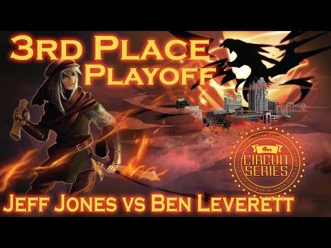 ARG Atlanta 3rd/4th Playoff - Jeff Jones (Shaddolls) vs Ben Leverett (Burning Abyss) Part 1