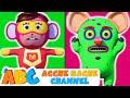 SUPERHERO VS MONSTER | Finger Family Song | हिंदी Kids Songs | Acche Bache Channel