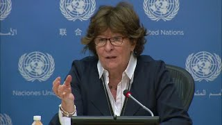 """Louise Arbour on """"Making Migration Work for All"""" - Press Conference (9 January 2018)"""
