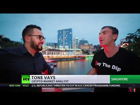 Cryptoforecast with Tone Vays: Bitcoin may fall to $1,300 before rocketing to $20,000 & beyond
