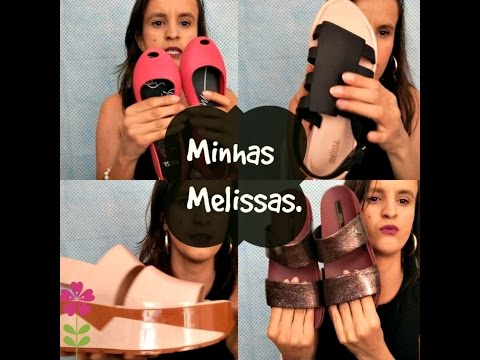 As MELISSAS MAIS CONFORTAVEIS DO MUNDO (BOEMIA, ULTRAGIRL, COSMIC e SPORTECH) /Por Desiree