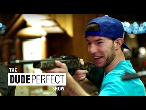 Thumbnail: Dude Perfect Takes Over Bass Pro Shop on The Dude Perfect Show