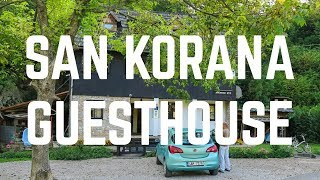 The San Korana Guest House near Plitvice Falls in Croatia