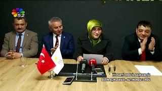 14/02/2019 İYİ PARTİ ORDU İL BAŞKANLIĞI BASIN AÇIKLAMASI - ALTINORDU / ORDU