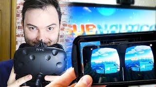 КАК ИГРАТЬ В VR БЕЗ VR ОЧКОВ?! - Запуск игр Steam VR на телефоне.
