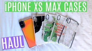 iPHONE XS MAX CASE HAUL + DROP TEST | Casetify