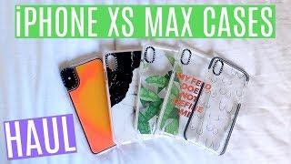 iPHONE XS MAX CASE HAUL + DROP TEST | Casetify