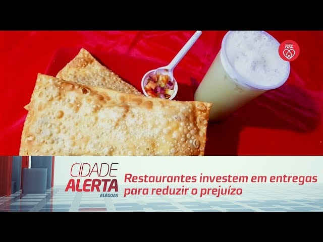 Restaurantes investem em entregas para reduzir o prejuízo