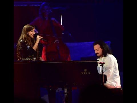 Yanni with Lauren Jelencovich - Nightingale (Live at KAEC, Jeddah, KSA 2017) HD