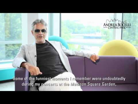 Andrea Bocelli Exclusive Interview for Central Park _ 3
