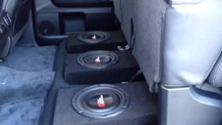 2014 Toyota Tundra Under Seat Custom Enclosure