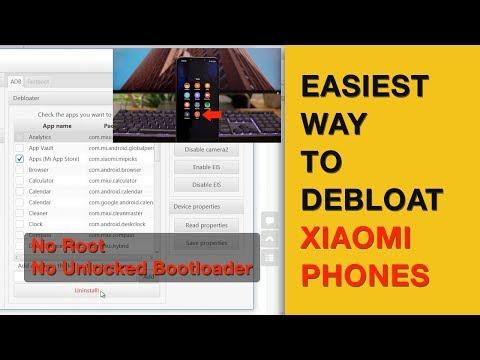 Easiest Way to Debloat Poco F1 & Other Xiaomi Phones [No root | No
