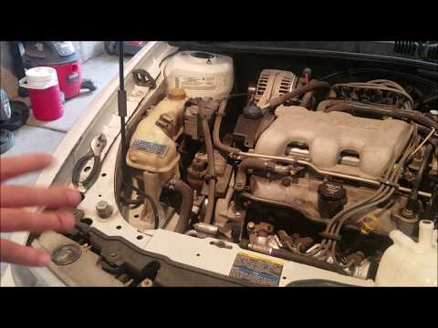 2004 Olds coolant tank replacement