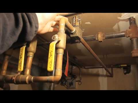 Forced Hot Water Heating System