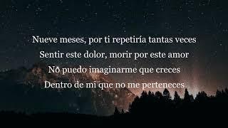 Camila - Nueve Meses (Letra)