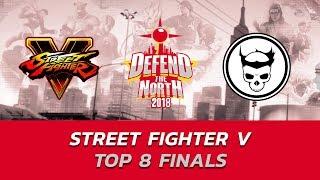 SFVAE ▷ Top 8 Finals ft. Nuckledu, Punk, Smug, Idom ▷ Defend the North 2018 (TIMESTAMP)