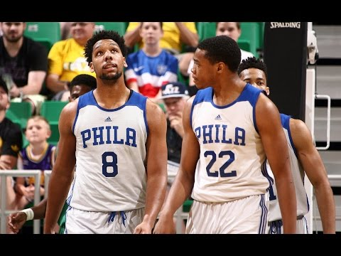 Okafor and Holmes Dominate the Paint for the Win!