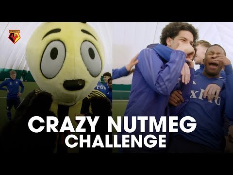 CRAZY NUTMEG CHALLENGE!! WITH HARRY THE HORNET & LDN MOVEMENTS 🔥⚽️