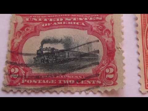 Rare U.S. Postage Stamps Collection