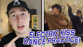EXO - ELECTRIC KISS DANCE PRACTICE REACTION!!!