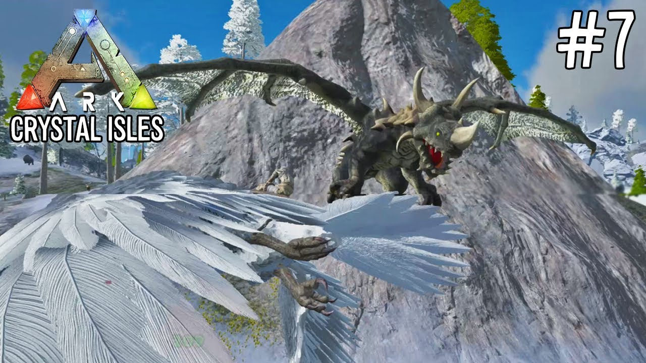 how to download crystal isles ark