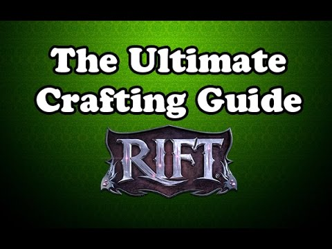 [Rift] The Ultimate Crafting Guide (Nightmare Tide)