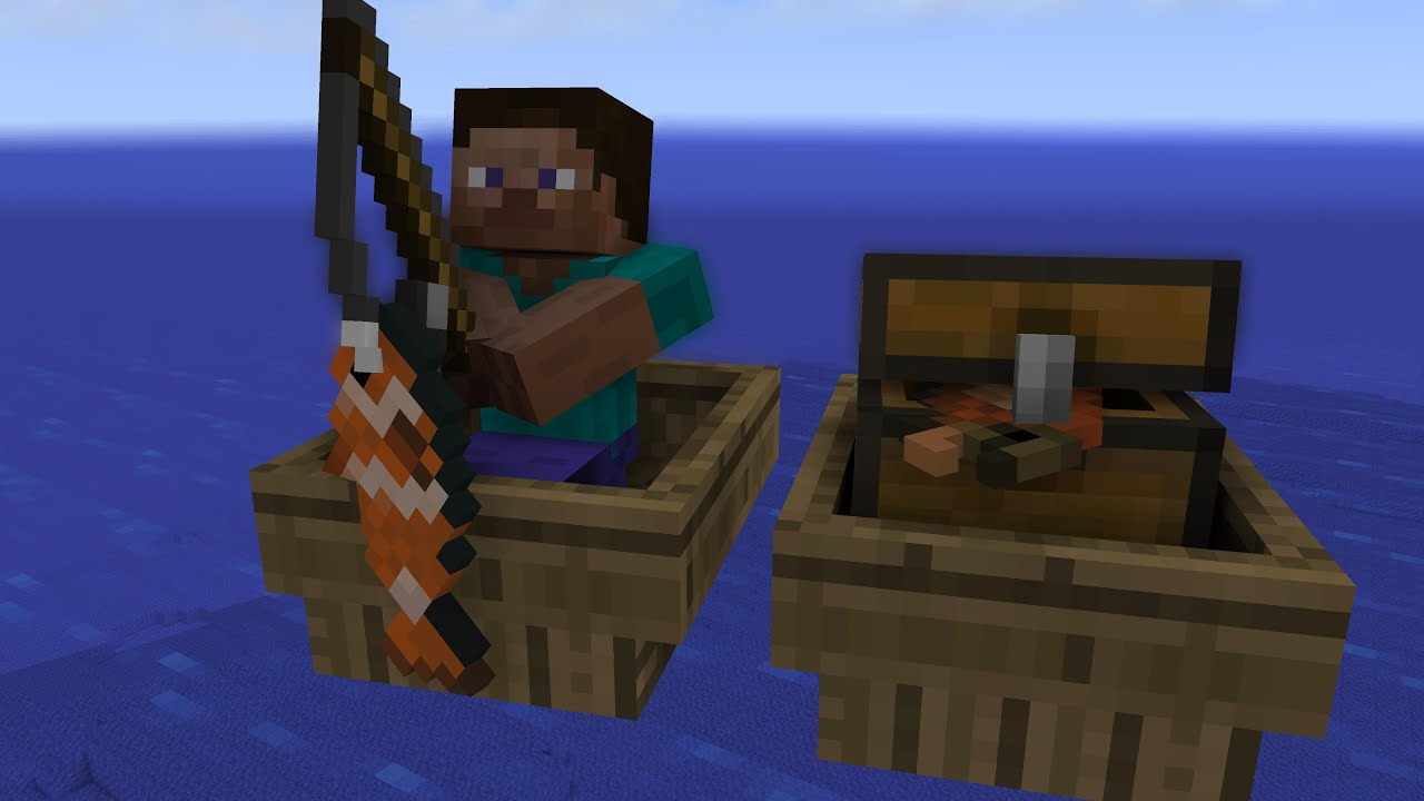 minecraft fishing tips - HD 4096×2304