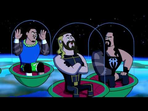 Thumbnail: WWE Superstars in outer space!