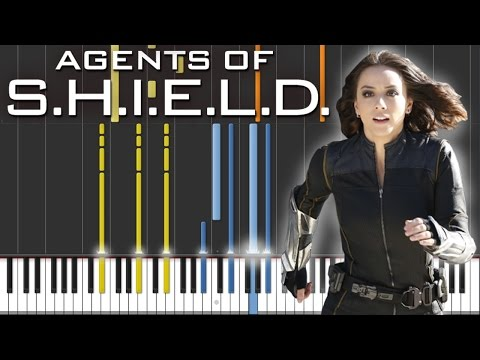 Marvel's Agents Of S.H.I.E.L.D. - Skye Theme | Piano & Orchestral Tutorial
