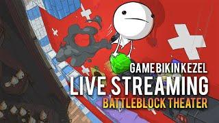 [Livestream] Battleblock Theater Indonesia #1 - Game Bikin Marah