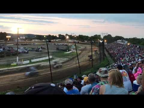 2017 PA Speedweek Grandview Speedway Heat Start