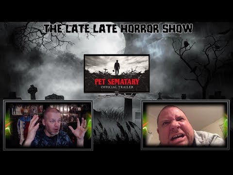 PET SEMATARY 2019 TRAILER REACTION REVIEW STEPHEN KING